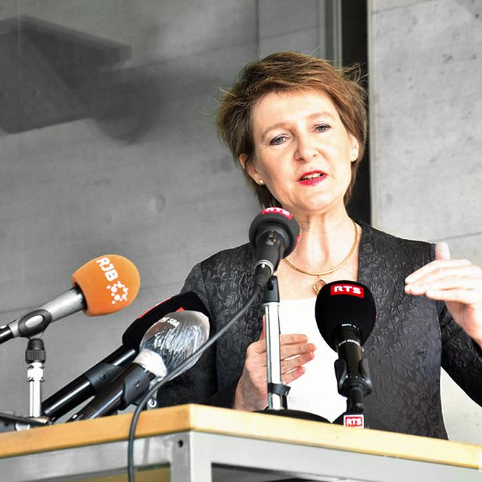 Interview Radio « Mme Simonetta Sommaruga » 06.04.2020