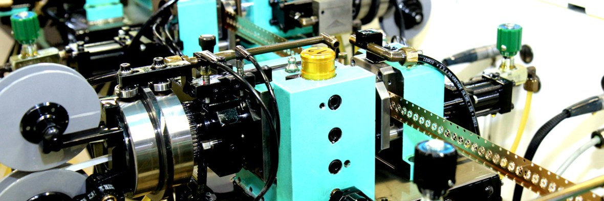 Production of stamps and gears on platform machines developed by Affolter Technologies