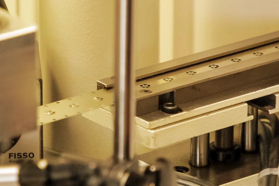 stamping wheel job swiss watch affolter geartrain