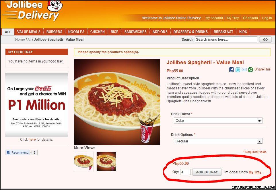 Delivery Contact Number Jollibee