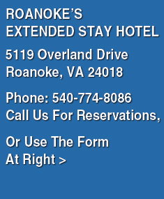 Roanoke Va Corporate Suites - Overland Dr | Extended Stay
