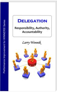 Book cover - Delegation