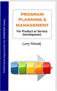 Book cover - Program Planning & Management