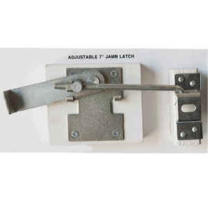 Adjustable Jamb Latch