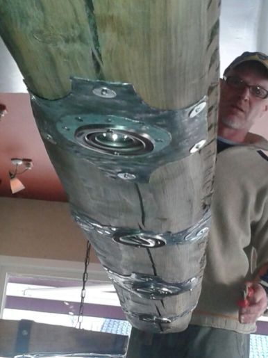 Hanglamp 250 cm | Prijs €650,-