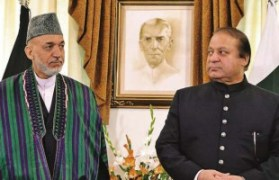 New allies? Hamed Karzai didn't visit Pakistan in one and a half years. During the trip on 26 and 27 August he met Pakistan's new Prime Minister Nawaz Sharif for the first time. They spontaneously added another morning of talks to the agenda. This, at least, was a good sign. Photo: Borneobulletin