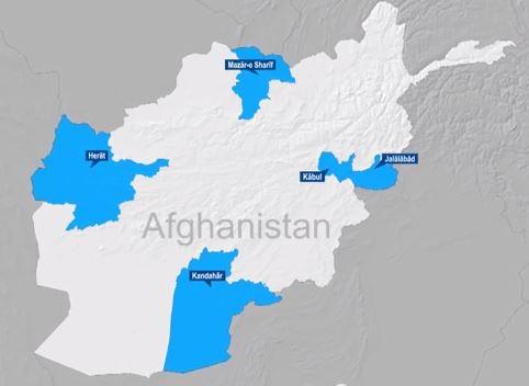 Mapa de Four Corners de Apoyo Resolute