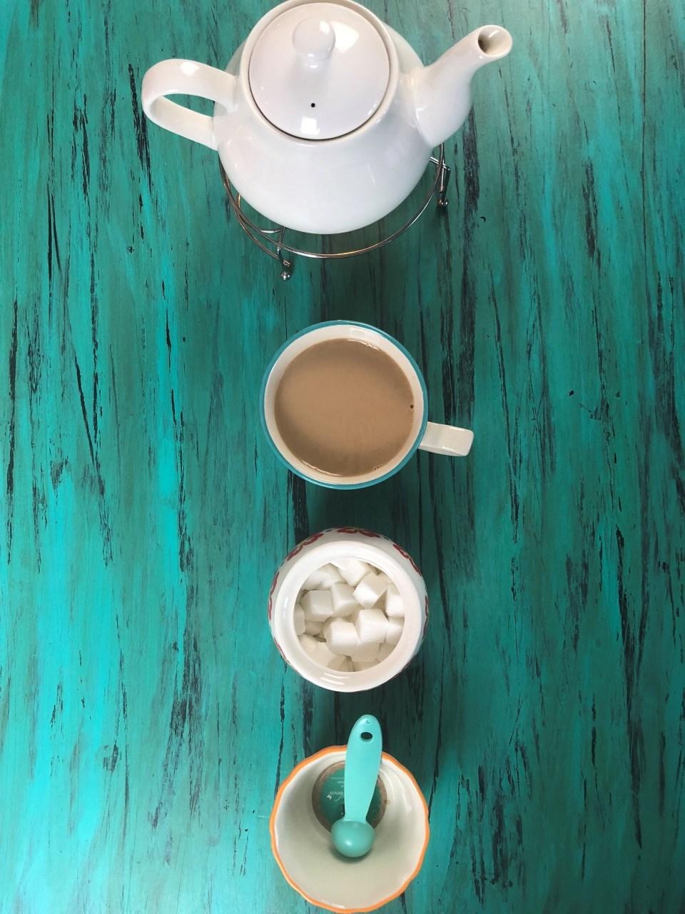 مواد لازم برای شیر چای