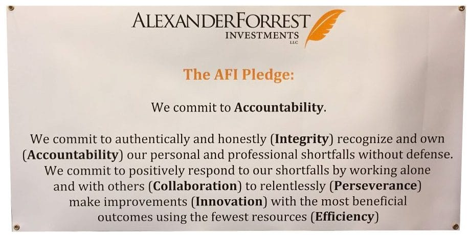 The AFI Pledge