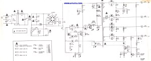 ac power supply for tv and pc | Electronic Circuit Diagram and Layout