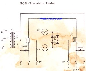 Transistor Tester for repair | Electronic Circuit Diagram and Layout