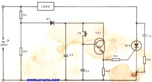 SCR circuit | Electronic Circuit Diagram and Layout