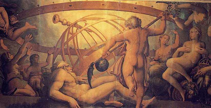 A ERA DE KRONOS (Senhor do tempo) (Saturno entre os romanos)