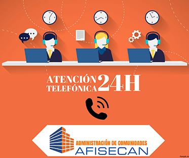 Atención 24 hs - AFISECAN