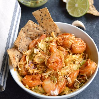 Spicy Shrimp Taco Salad