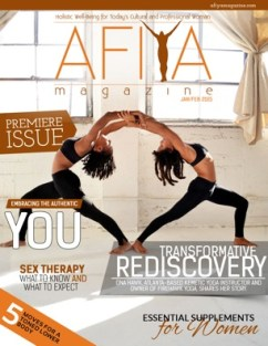 Afiya Cover-Premiere Issue