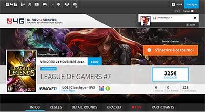 Glory4Gamers ouvre son nouveau site esport