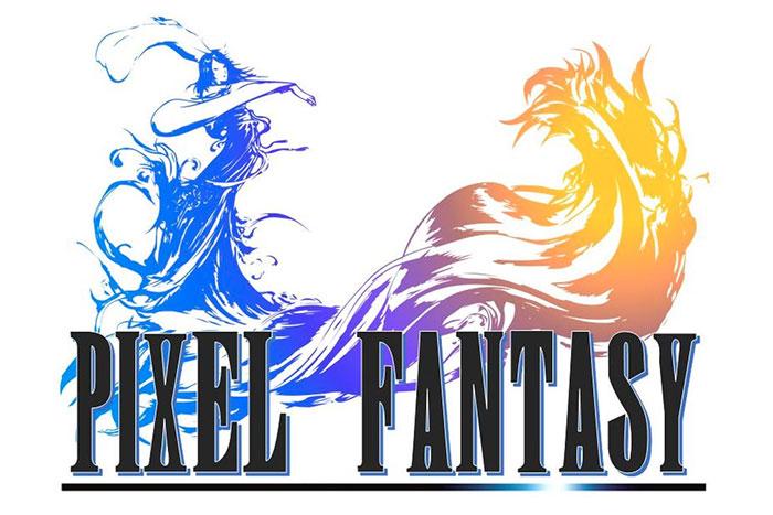 Exposition Pixel Fantasy Sur Lunivers De Final Fantasy