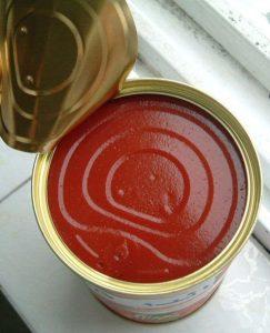 فكرة مشروع تصنيع معجون الطماطم ومشتقاتها