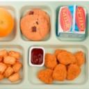 مشروع ,تعبئة و تغليف, وجبات الطعام, لطلاب المدارس