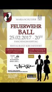 Maria Schutzer Feuerwehrball @ Kirchenwirt Maria Schutz   Niederösterreich   Österreich