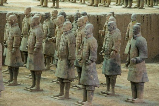 L'armée des soldats de terre cuite