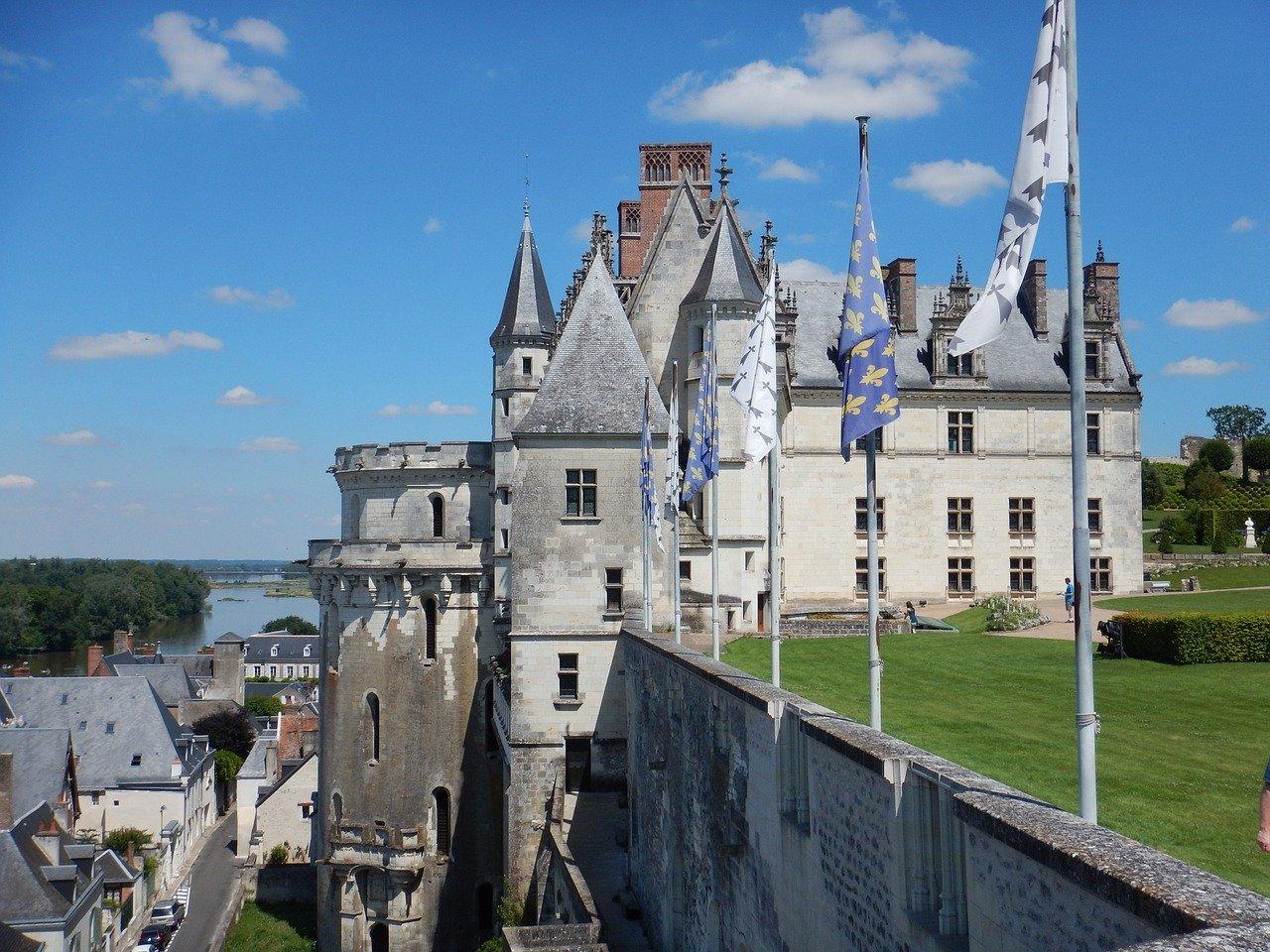 Château d'Amboise - Image par Laure GREGOIRE de Pixabay