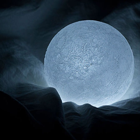 moon lamp by nosigner