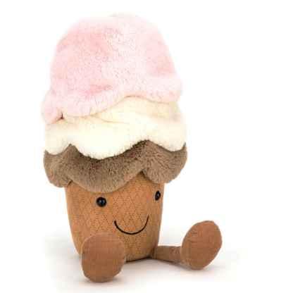 Amuseable Ice Cream Jellycat 21cm - 29cm - 50cm | Gift Plush