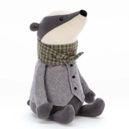 Jellycat Riverside Ramblers Badger 23cm | All Ages Special Gift Plush