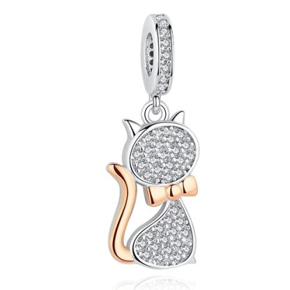 Cat Charm Pandora Bracelet   Material 925 Sterling Silver