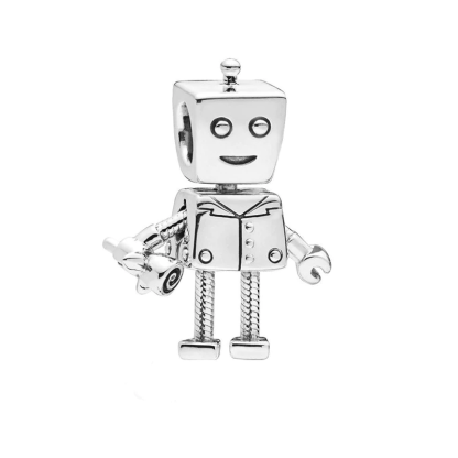 Pandora Rob Bot Charm | Material 925 Sterling Silver