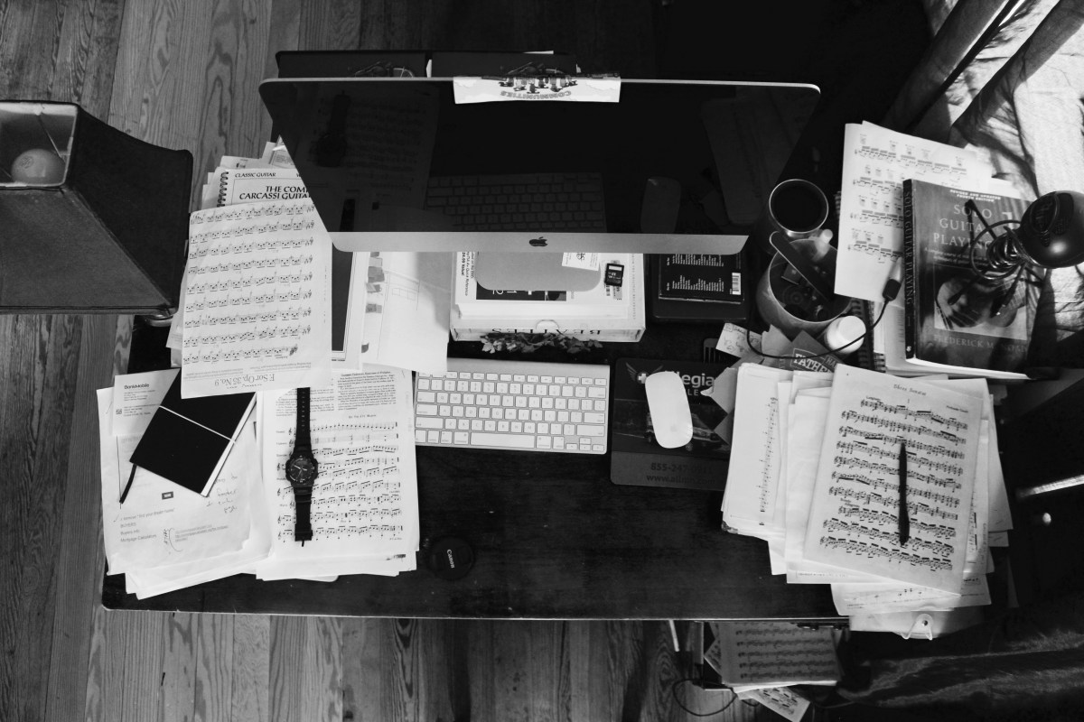 The Messy Desk Myth