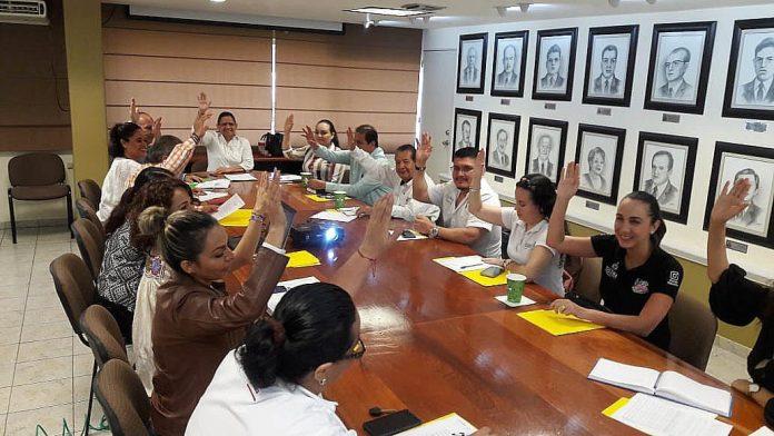 Educación Comité 3 696x392 - Presentan plan anual de trabajo del Comité Estatal de Becas