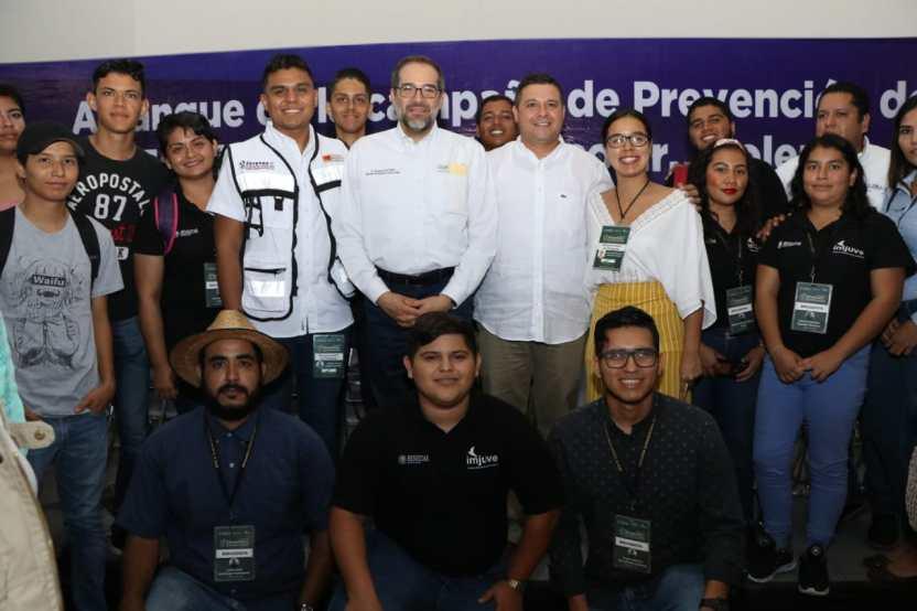 JIPS Campaña Manzanillo 5 - Gobernador presenta campaña de prevención de la violencia en Manzanillo - #Noticias