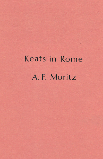Keats in Rome Cover