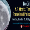 Moritz Lecture