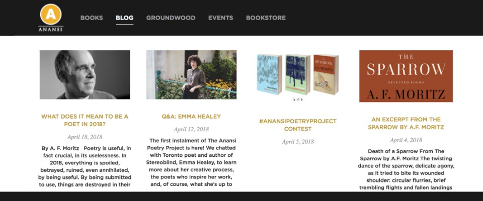 Anansi Blog Post The Sparrow 2018