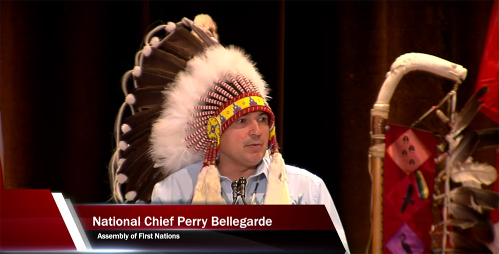 Opening remarks by National Chief Perry Bellegarde at the 2015 Special Chiefs Assembly