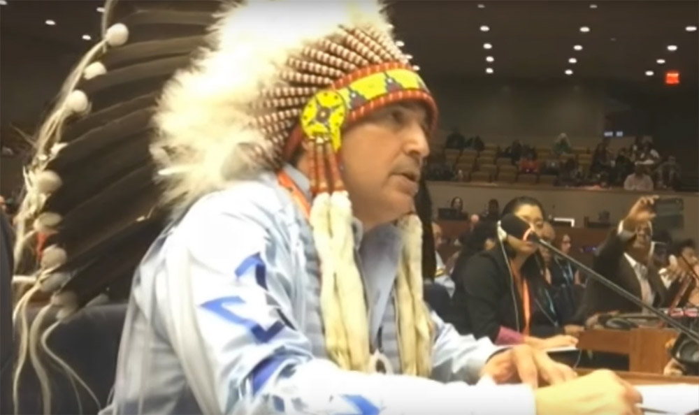 National Chief Bellegarde