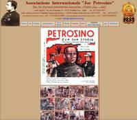 Il sito dell'Associazione dedicata a Joe Petrosino, con il racconto per immagini della sua storia, in stile cantastorie