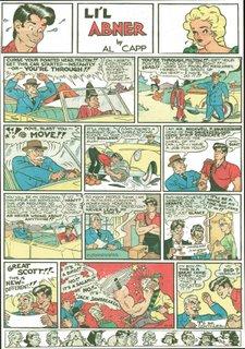 Al Capp - Li'l Abner 12 ottobre 1947