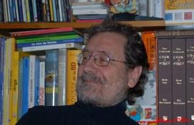 Gianfranco Goria con libreria
