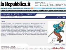 Repubblica Tintin Goria 2003 - afnews