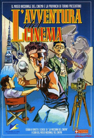 L-avventura del cinema - Museo del Cinema - Gianfranco Goria Pierpaolo Rovero - settembre 2002-afnews