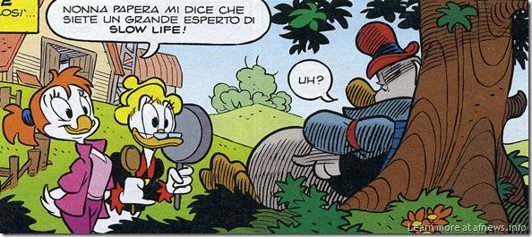 CiccioSlowLife-MacchettoFreccero-Topolino2860 - ovviamente copyright Disney per quanto di sua proprietà