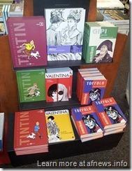 Tintin alla FNAC di Torino - 13 luglio 2011 - foto Goria