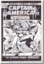 Captain America 147 Cover Art