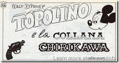 CollanaChirikawa-RomanoScarpa-Disney-testata - con la Colt canna corta che Topolino usava all'epoca