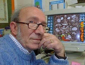 Carlo Peroni in una foto di Gianfranco Goria